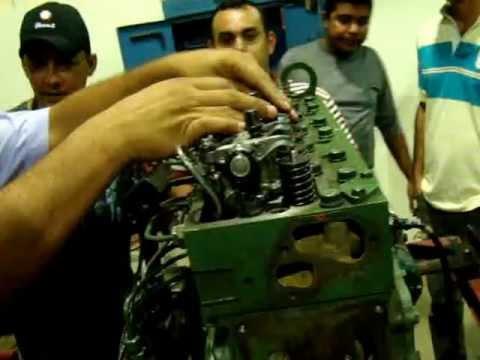 Montando motor MB OM-366. 10