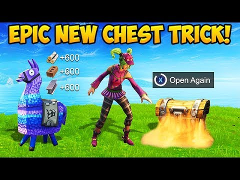How To Open the SAME CHEST *TWICE* - Fortnite Funny Fails and WTF Moments! #308 Latest Gaming Videos on VIRAL CHOP VIDEOS