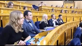 Школьная ТV студия Совенок на церемонии награждения талантливой