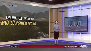 Bản tin thời tiết dự báo dài hạn 19h45 - Chủ nhật, 19/8/2018
