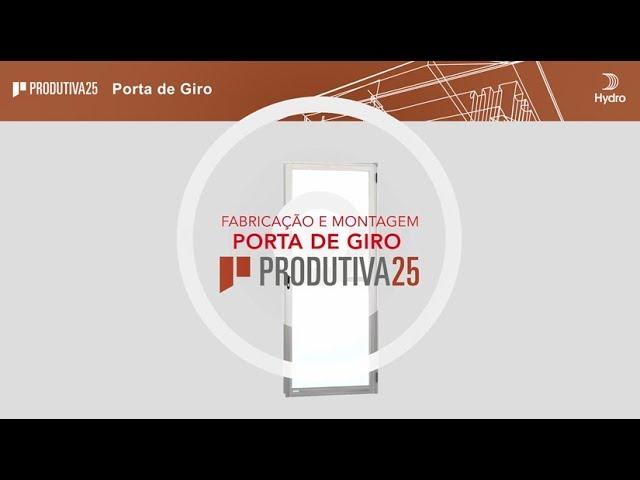 HYDRO Produtiva25 - Porta de Giro