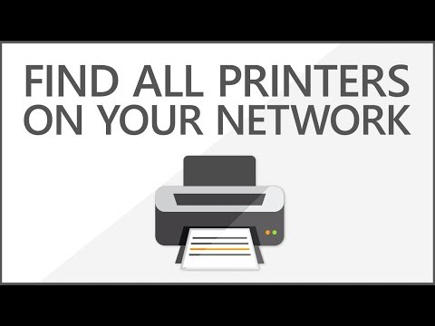 How To Find All Printers On Network | Network Printer Discovery