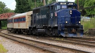 HD Pan Am Railways action in the Ayer,MA area. July 2013