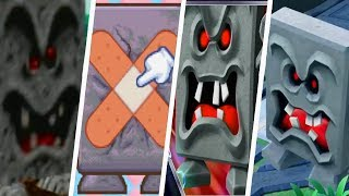 Evolution of Whomp in Super Mario Party Games (1998 - 2018)