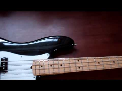Short Review of Fender American Standard Precision Bass