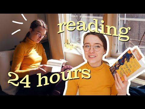 24 Hours Of Reading! 📚 // Readathon Reading Vlog