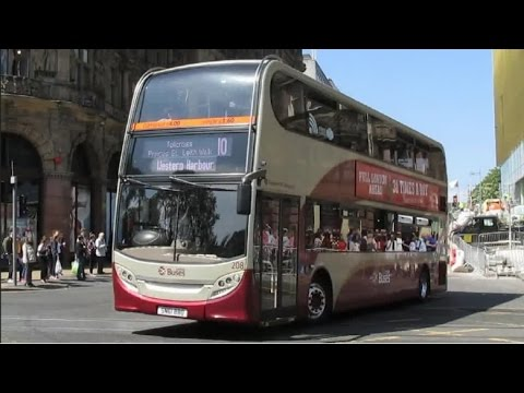 Buses Trains & Trams at Edinburgh - June 2016