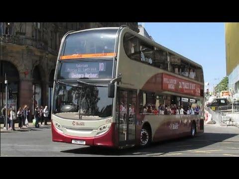 Buses Trains & Trams At Edinburgh - June 2016