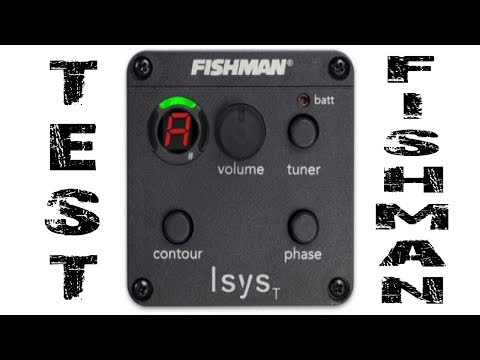 Fishman Isys - para Guitarras Acústicas - por Jesús Amaya...