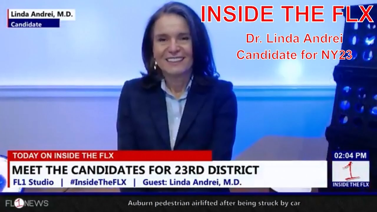 Linda Andrei for Congress talks NY23 .::. Inside the FLX 4/15/18