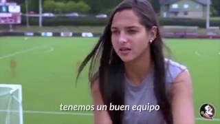 Venezolana Deyna Castellanos está haciendo historia en EEUU