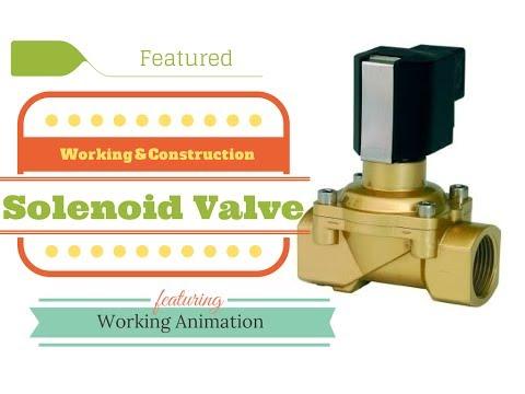 Solenoid Valve Working
