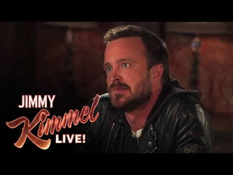 3 Ridiculous Questions with Jimmy Kimmel and Aaron Paul
