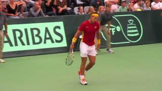 Torpegaard vs Nadal DEN vs ESP Davis Cup 2015