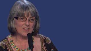 JulieWard EN speaks on International Women's Day 2015, Berlin, 7 March 2015