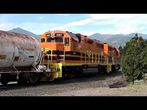 Central Oregon & Pacific (CORP) Switching in Weed & On the Road, July 13 2018