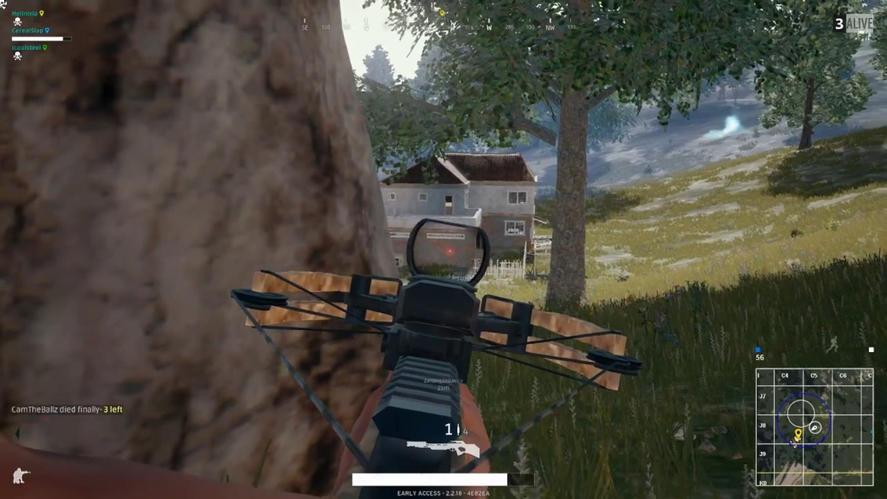 Insane Crossbow Kills Pubg Youtube