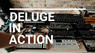 Download lagu Synthstrom Deluge full track 8 MIDI channels Prophet REV2 OP 1 Roland Boutiques MP3
