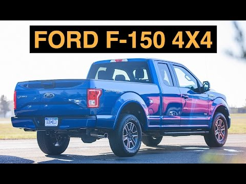 2015 Ford F-150 4x4 - Off Road And Track Review