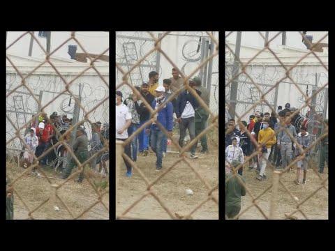 Esto es lo que hace Marruecos: abrir las puertas y bloquear a Ceuta