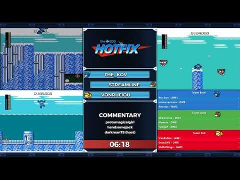 GDQ Hotfix Presents: Classic Mega Man Team Relay Race #9
