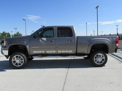Lifted Chevy Trucks For Sale >> 2014 GMC Sierra 2500 Diesel RMT Off Road Package Lifted Truck - YouTube