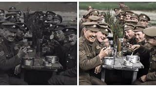 Ο Α' Παγκόσμιος Πόλεμος παίρνει...χρώμα!