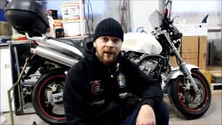Honda Hornet 600   (хранение и эксплуатация)