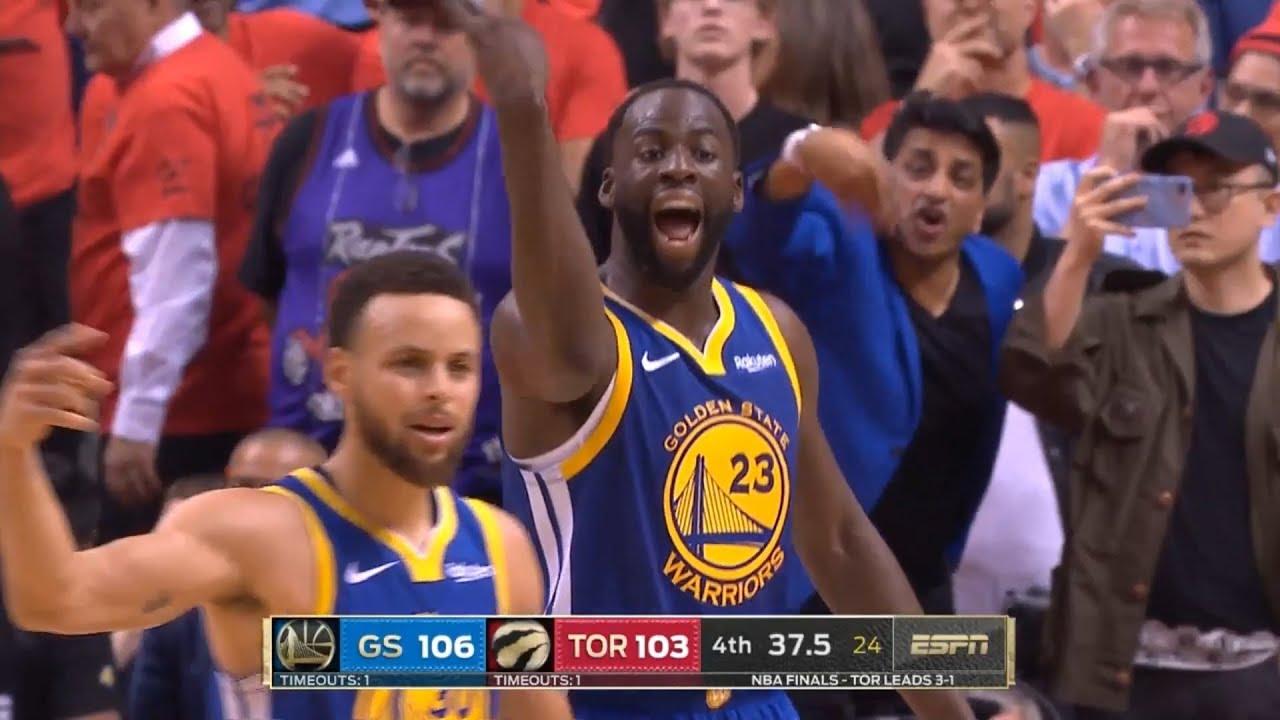 Gs Warriors Vs Toronto Raptors Game 5 Full 4th Qtr 2019 Nba Finals Youtube