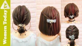 🌺 Các Kiểu Tóc Ngắn Đẹp  Không Thể Bỏ Lỡ |  Làm Tóc Đẹp | Easy Hairstyles for SHORT Hair