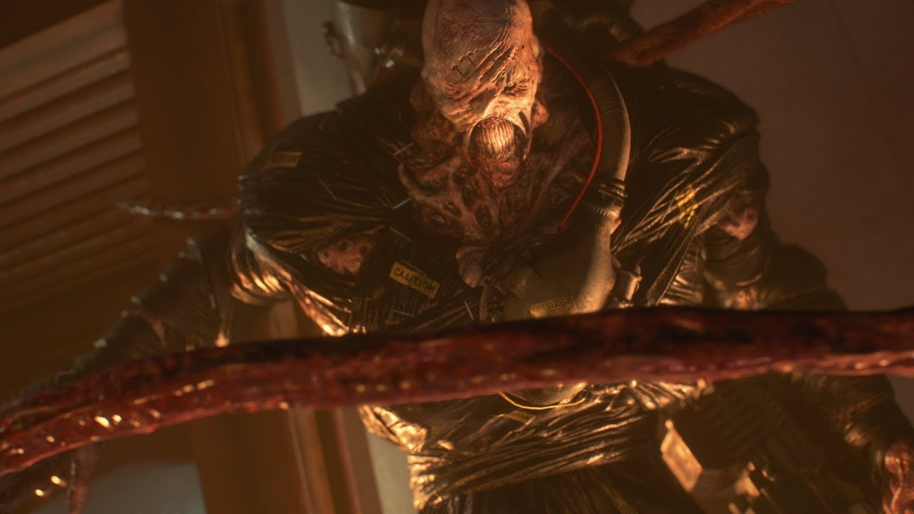 Resident Evil 3 Remake Nemesis Trailer Heroes And