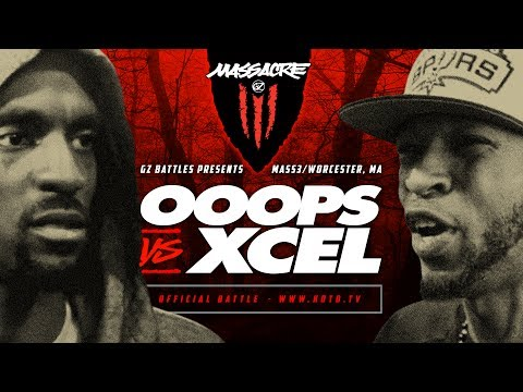 KOTD - Rap Battle - Ooops vs Xcel | #MASS3