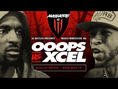 KOTD - Rap Battle - Ooops vs Xcel | #MASS3