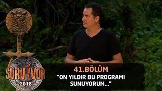 Acun Ilıcalı şaşkınlığını gizleyemedi!| 41.Bölüm | Survivor 2018