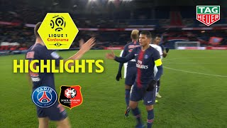 Paris Saint-Germain - Stade Rennais FC ( 4-1 ) - Highlights - (PARIS - SRFC) / 2018-19