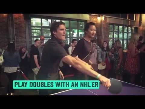 Smashfest IV – NHL Stars Highlight Ping-Pong Charity Party