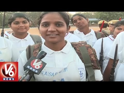 Trainee Woman Constables Shares Their Training Experience At TS Police Academy | V6 News