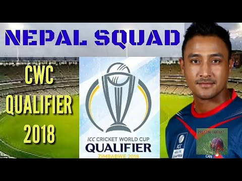 Nepal Team Squad ICC CWC Qualifier 2018   Nepal Cricket Players in World Cup Qualifier