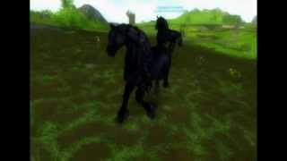 Star Stable Online - Mysterious Adventure - Lost Friesian Horse - 1.PART