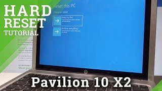 How to Hard Reset HP Pavilion 10 X2 - Bypass Password / Reinstall Windows