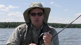 Не за рыбой, а на рыбалку. Сезон 1. Ловля на слаги с лодки в жару