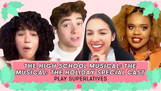 Joshua Bassett, Olivia Rodrigo, Dara Renee, and Sofia Wylie Talk Holidays | Superlatives | Seventeen