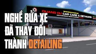 Mô hình Trung tâm chăm sóc xe hơi chuyên nghiệp tại Tp. Hải Dương