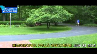Lawn Job In Menomonee Falls Wi Front Yard