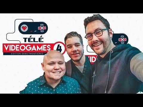 TéléVidéoGames 4 - 75 h de live au profit de Médecins Sans Frontières #JUPRY