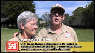 Learn how to volunteer at the U.S. Army Corps of Engineers Volunteer Clearinghouse