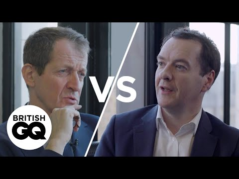George Osborne 'I've sat down and had a drink with Theresa May since all of this' | British GQ