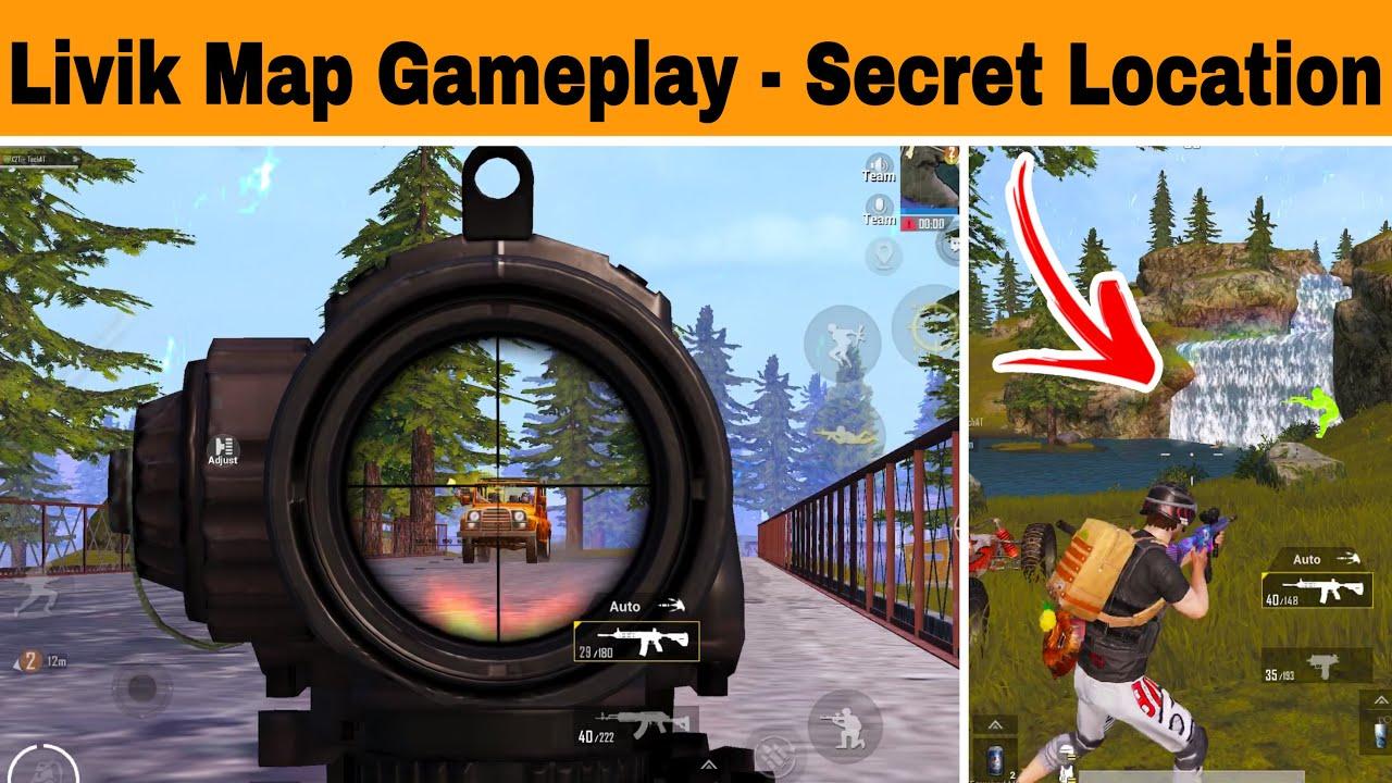 Pubg Mobile New Livik Map Gameplay | Secret Locations Livik Map