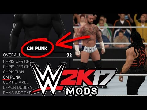 WWE 2K17 PC - How to install mods using Cheat Engine (Wrestler Pofo and Moveset)