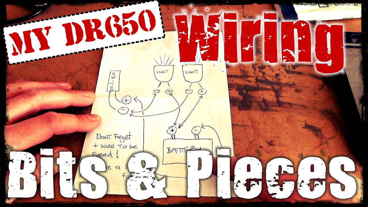 2012 Dr650 Suzuki Wiring Diagram Start Building A V Star 650 Electrical Bits Pieces Youtube Rh Com Cdi Yamaha
